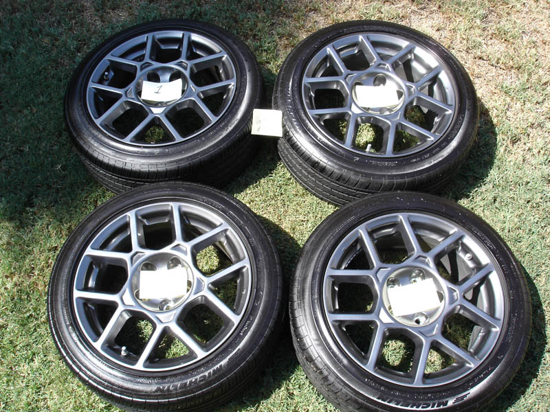 TL TypeS Wheels With Michelin Tires AcuraZine Acura - Acura tl type s wheels for sale
